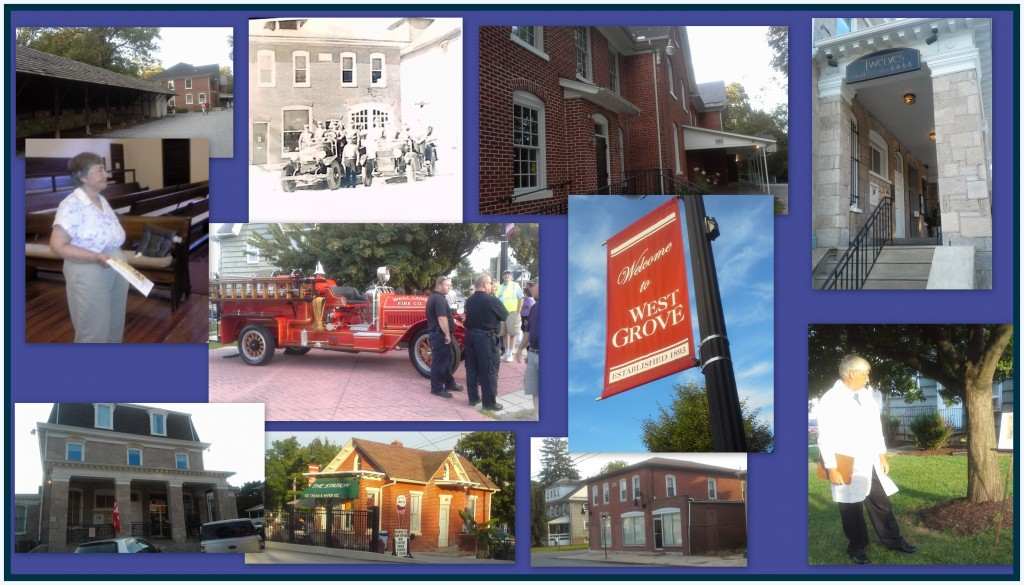 2015 West Grove Historic Walking Tour